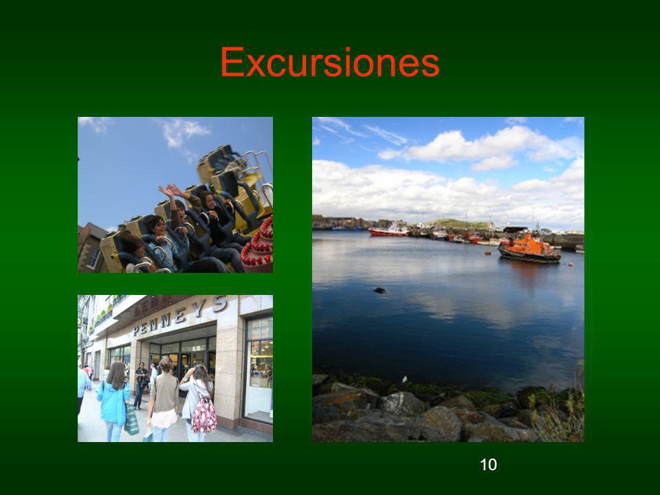 10 Excursiones