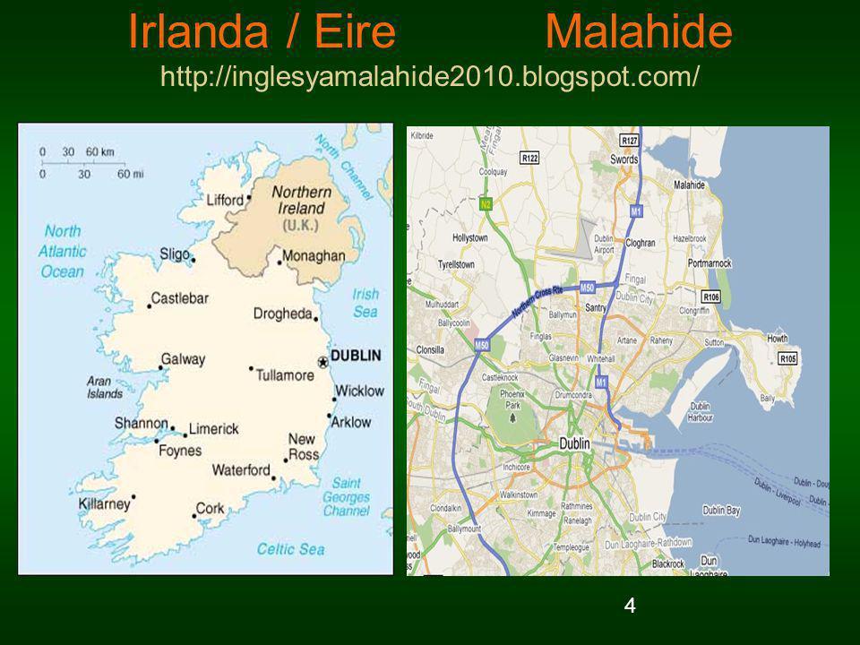 4 Irlanda / Eire Malahide http://inglesyamalahide2010.blogspot.com/