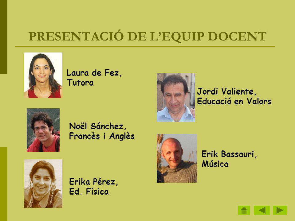 HORARI DE CLASSE LunesMartesMiercolesJuevesViernes 9:00 10:00 Lengua Matemáticas Lengua Inglés / Francés Lengua 10:00 11:00 MatemáticasConoc.