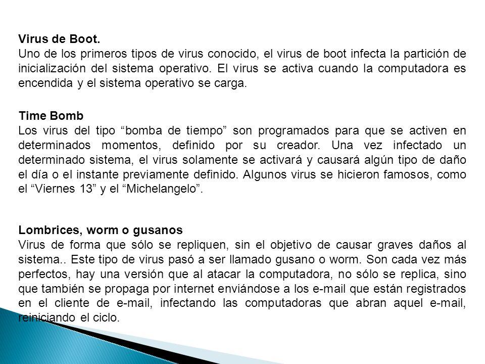Virus de Boot.