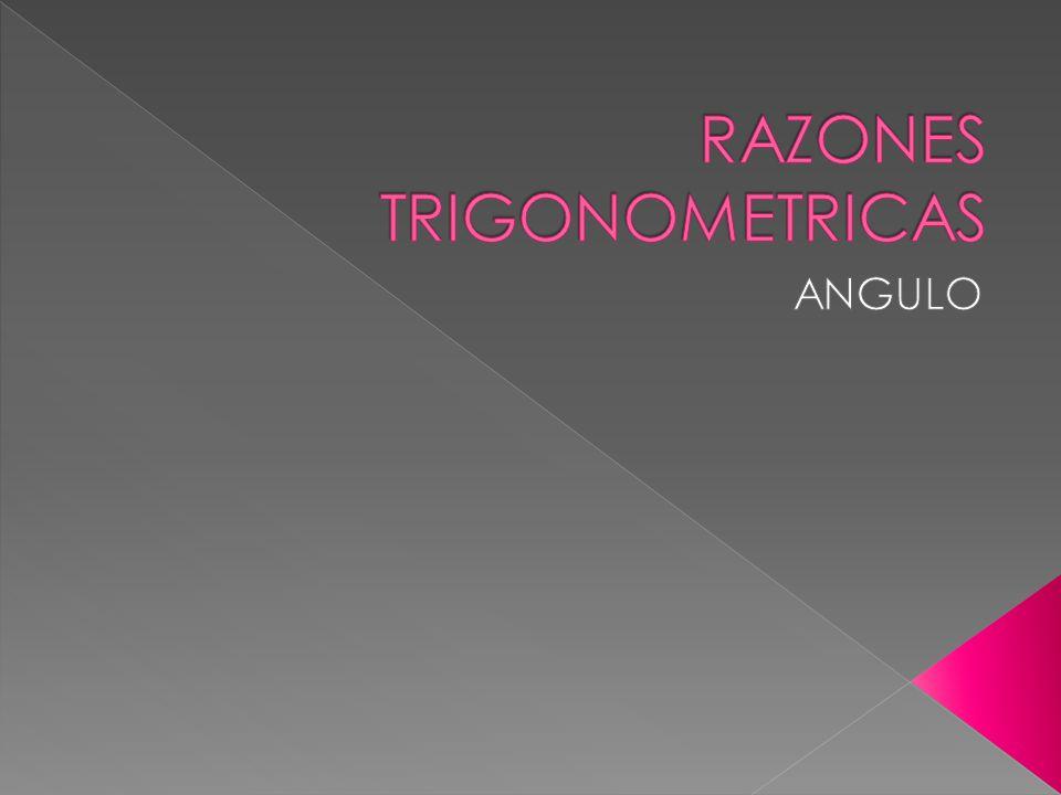 ÁNGULOS VERTICALES Los ángulos verticales son ángulos agudos contenidos en un plano vertical y formados por dos líneas imaginarias llamadas horizontal y visual ÁNGULO DE ELEVACIÓN ÁNGULO DE DEPRESIÓN HORIZONTAL VISUAL ) )
