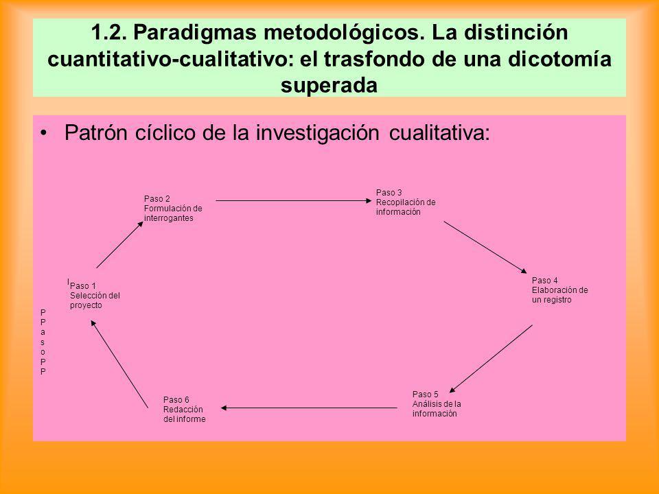 DIFERENCIAS ENTRE INVESTIGACIÓN CUALITATIVA Y CUANTITATIVA I.
