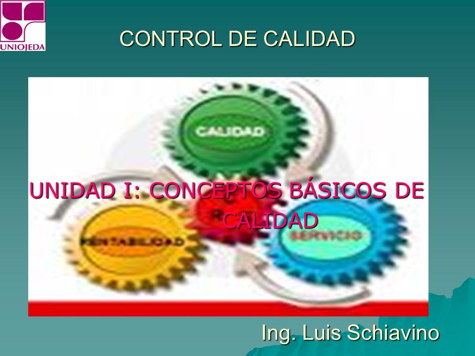 CONCEPTOS BÁSICOS DE CALIDAD OBSTACULOS DE LA CALIDAD: 1.