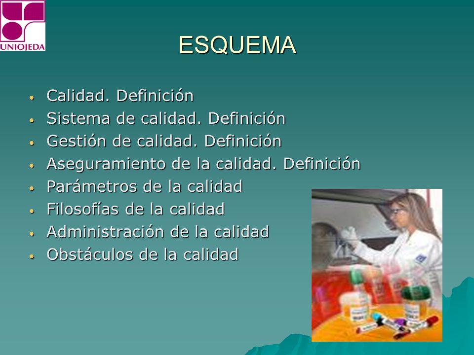CONCEPTOS BÁSICOS DE CALIDAD CONCEPTOS BÁSICOS DE CALIDAD FILOSOFÍAS DE LA CALIDAD: W.