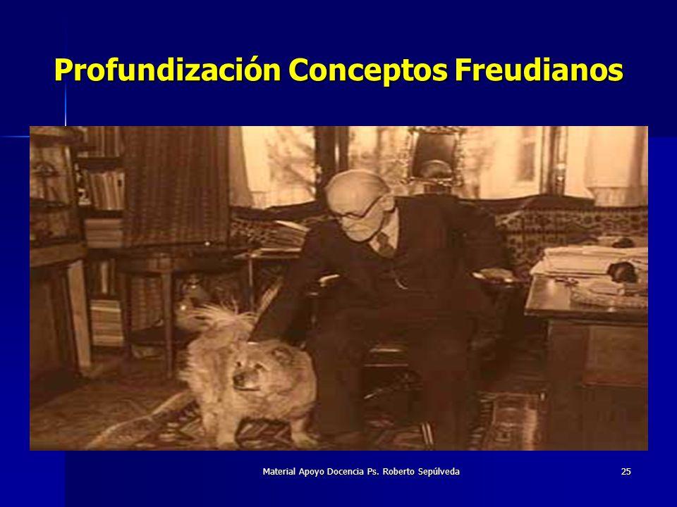 Material Apoyo Docencia Ps. Roberto Sepúlveda25 Profundización Conceptos Freudianos