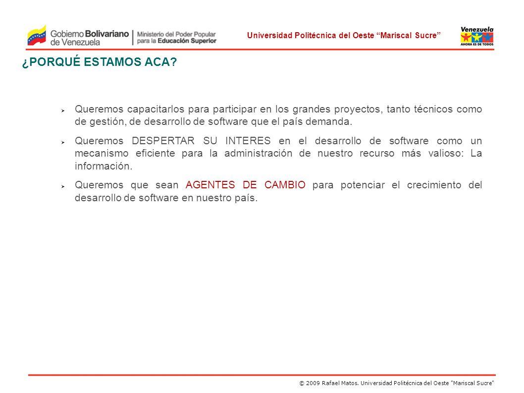 Universidad Politécnica del Oeste Mariscal Sucre ESPACIO DE LA SOLUCIÓN: INGENIERIA DE REQUERIMIENTOS (5) El Producto El estándar IEEE-830-1993 I.Introduccción 1.
