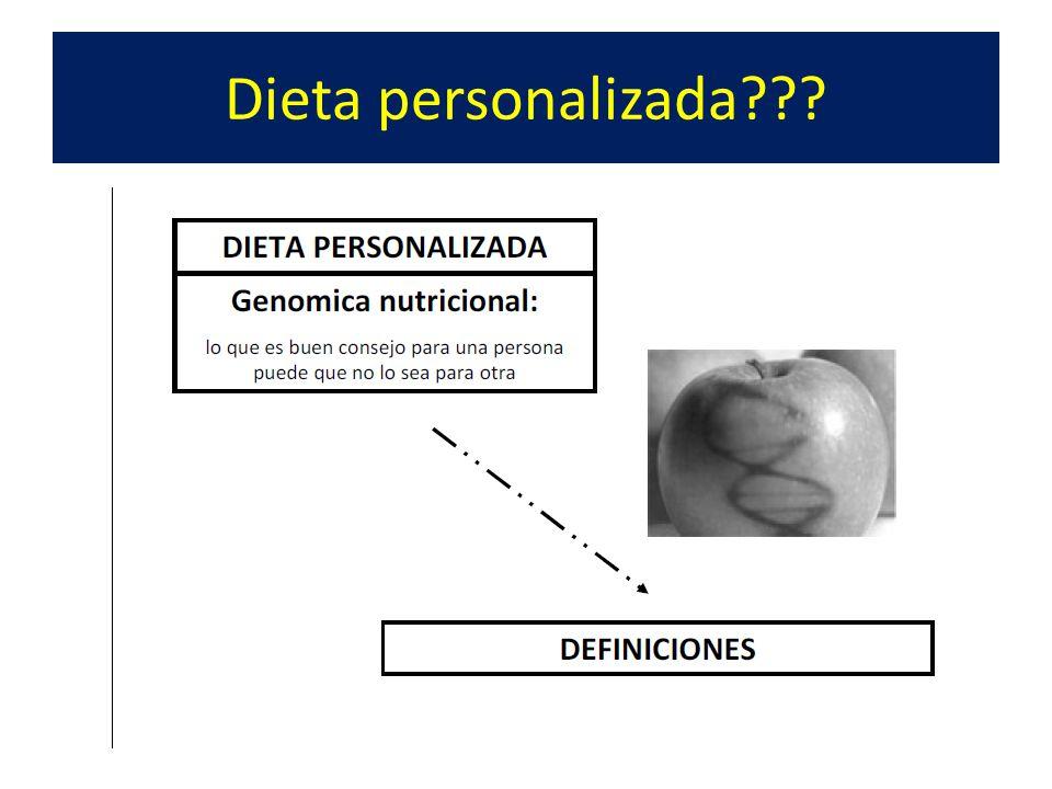 Dieta personalizada???