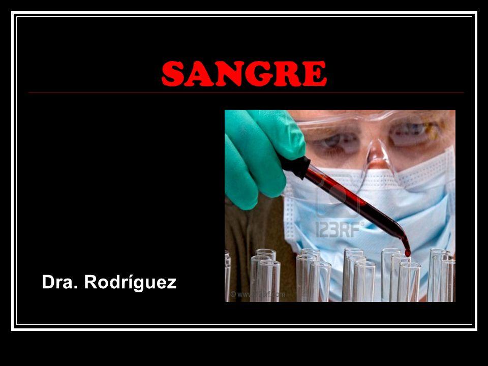 SANGRE Dra. Rodríguez