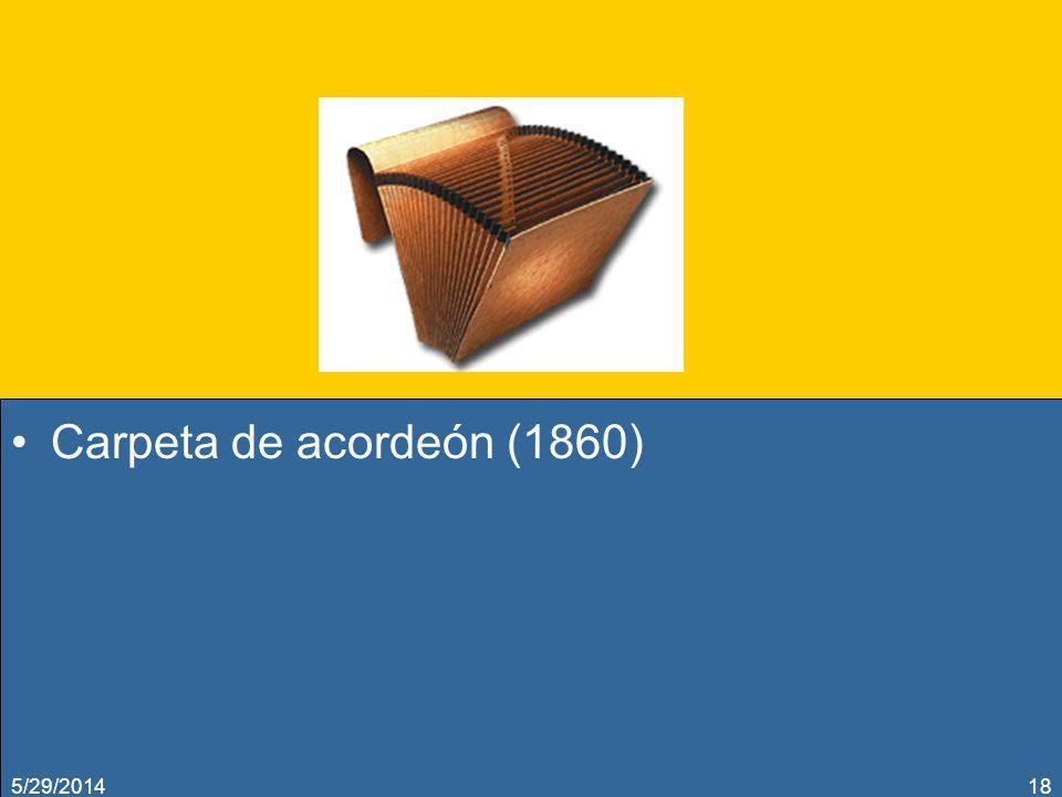 Carpeta de acordeón (1860) 5/29/201418