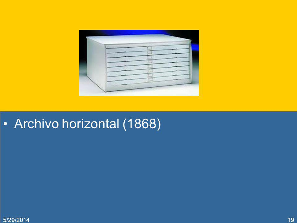 Archivo horizontal (1868) 5/29/201419