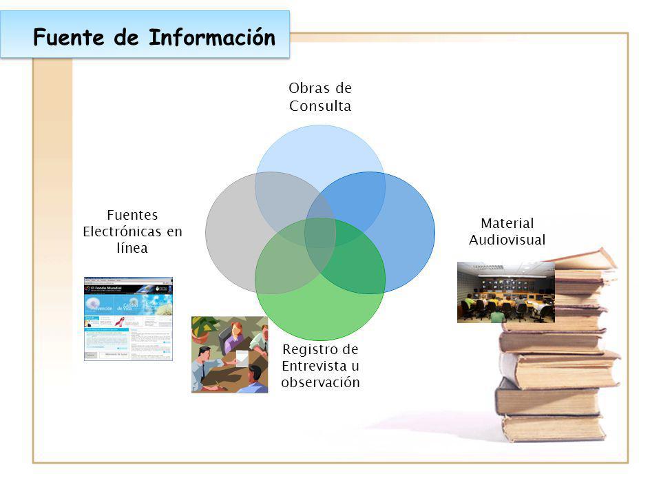 Fuente de Información