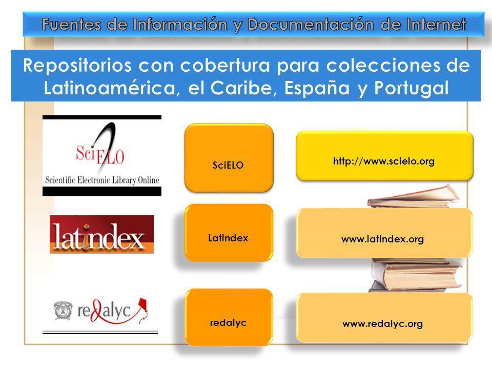SciELO http://www.scielo.org Latindex www.latindex.org redalyc www.redalyc.org