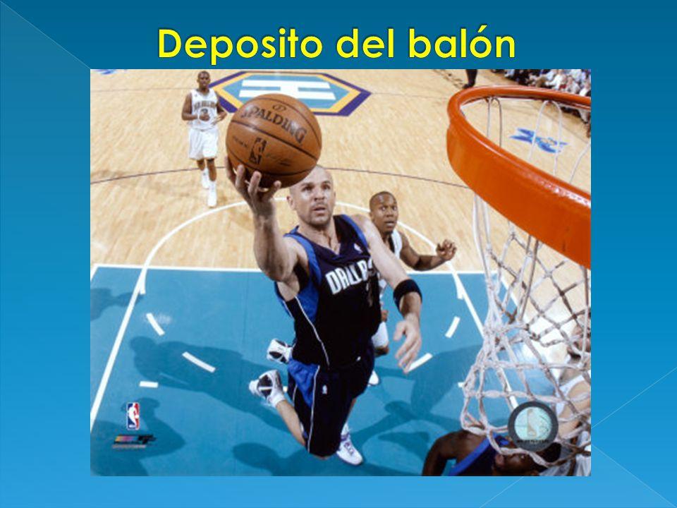 Deposito del balón: Deposito del balón: En esta tarea motriz el niño debe estirarse y saltar con un buen impulso.