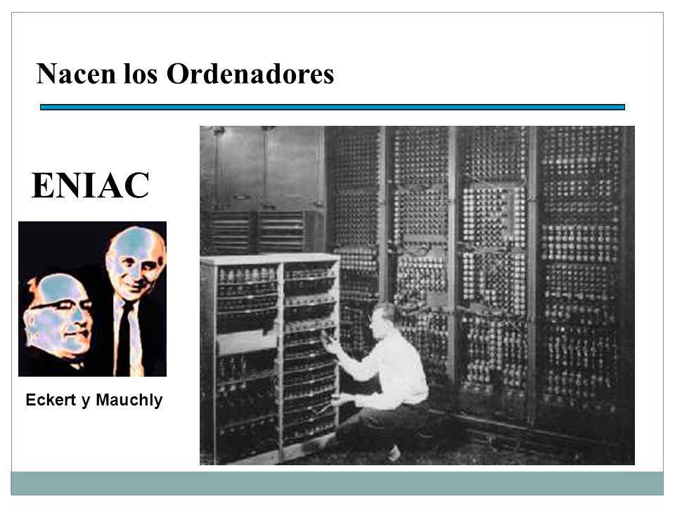Nacen los Ordenadores ENIAC Eckert y Mauchly