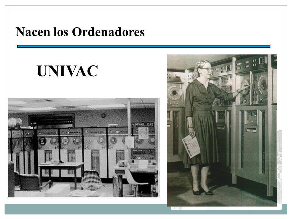 Nacen los Ordenadores UNIVAC