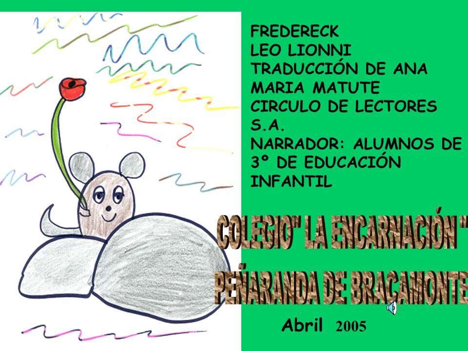 FREDERECK LEO LIONNI TRADUCCIÓN DE ANA MARIA MATUTE CIRCULO DE LECTORES S.A.