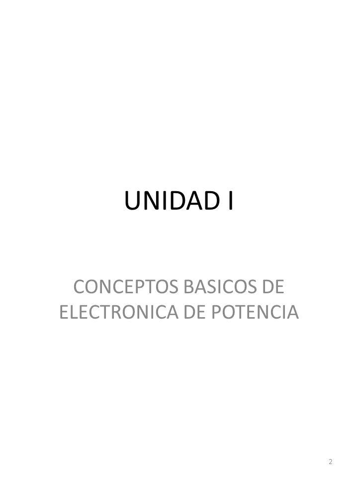 UNIDAD I CONCEPTOS BASICOS DE ELECTRONICA DE POTENCIA 2