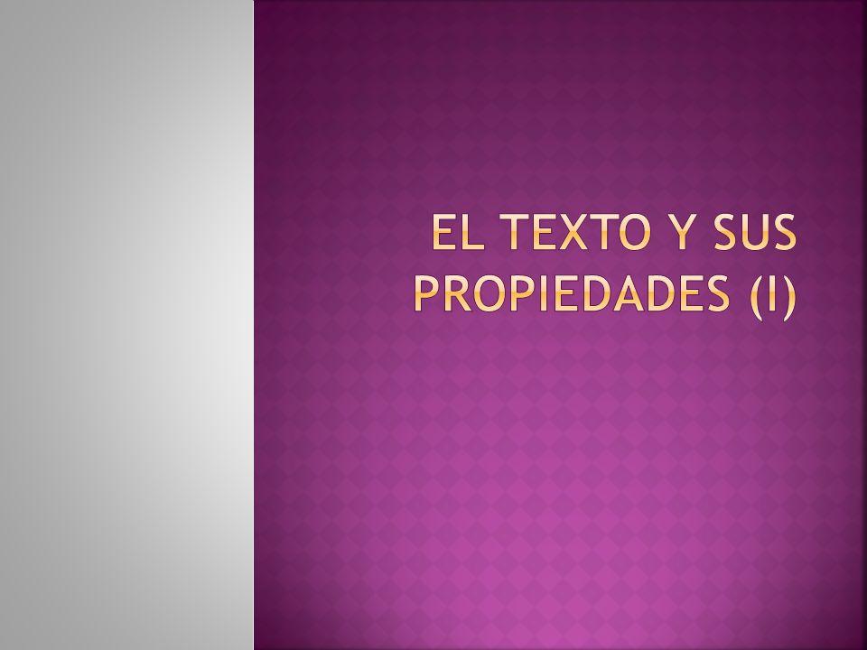 ¿Qué es un texto? Un texto es una unidad total de comunicación. El texto puede ser oral o escrito.