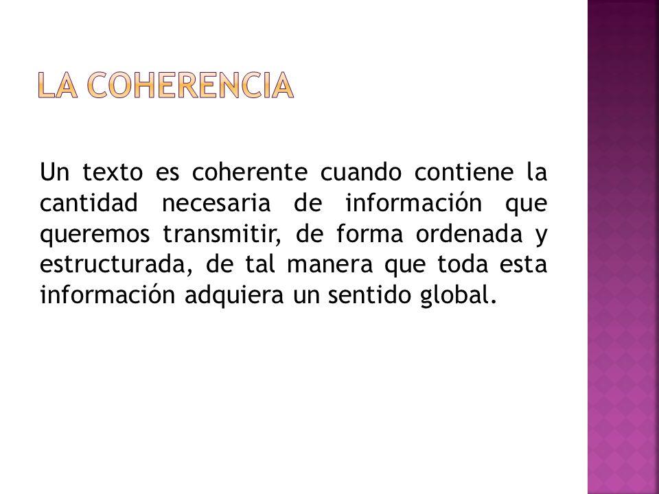 Organizar el contenido en párrafos y de acuerdo con un orden lógico establecido (cronológico, espacial...).