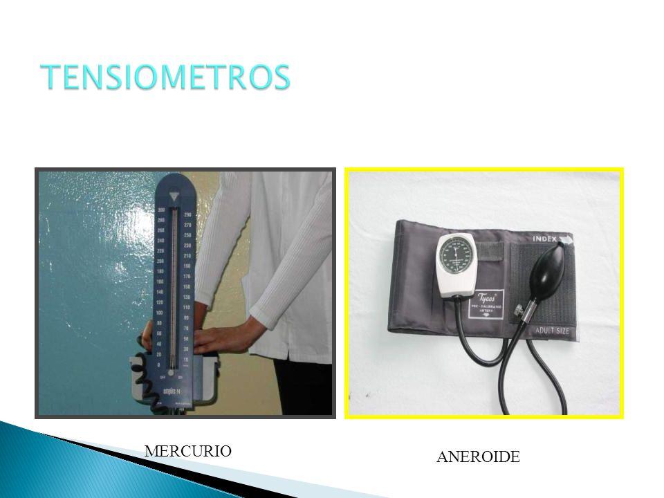 TENSIOMETROS MERCURIO ANEROIDE