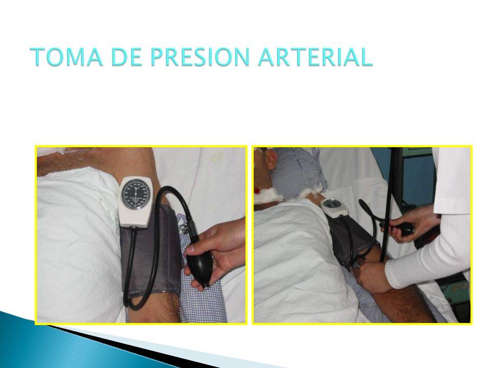 TOMA DE PRESION ARTERIAL