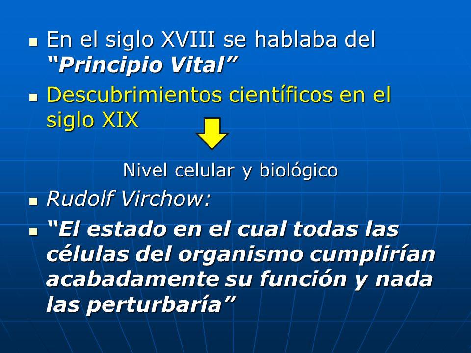 En el siglo XVIII se hablaba del Principio Vital En el siglo XVIII se hablaba del Principio Vital Descubrimientos científicos en el siglo XIX Descubri