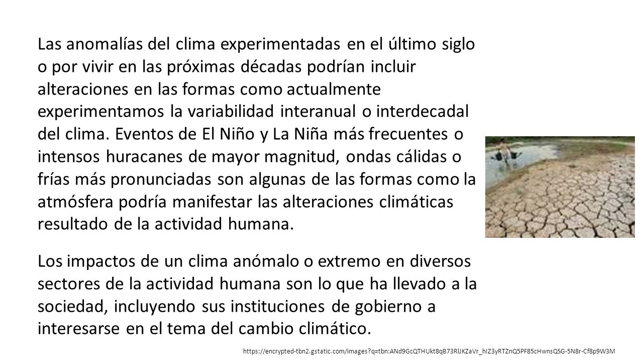 El fenómeno de El Niño (1997-1998)
