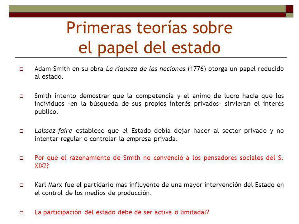 Las fallas de la intervención del estado (ejemplos para el caso Nicaragua) Problemas de información.