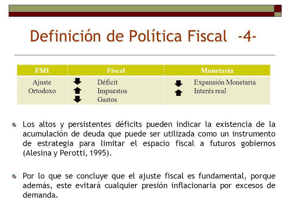 Con el fracaso de Keynes en poder explicar el fenómeno de la estanflación, el rol activista de la política fiscal perdió vigencia.