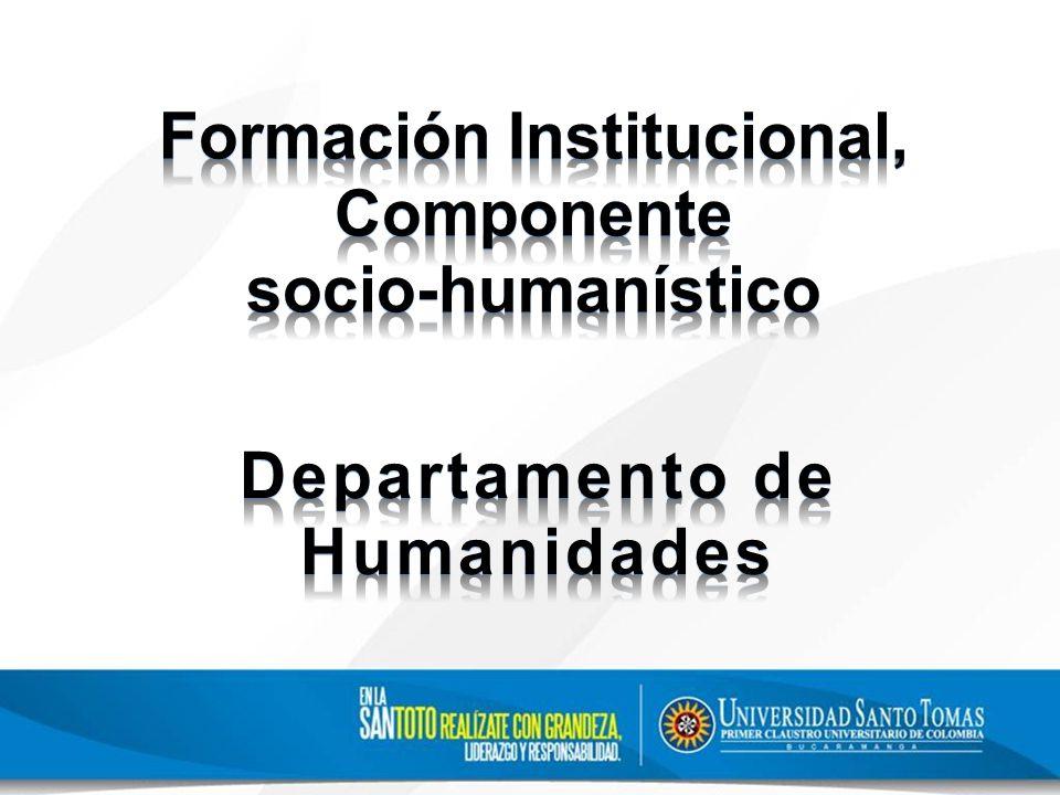 Seminario permanente de Formación Humanística El Seminario es un espacio académico para discutir, analizar y reflexionar en torno a la formación integral humana desde un abordaje transdisciplinar, complejo y problémico de los asuntos humanísticos ante los desafíos de las sociedades contemporáneas.