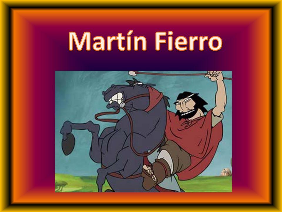 El Martin Fierro es una obra que habla del desarraigo del gaucho.