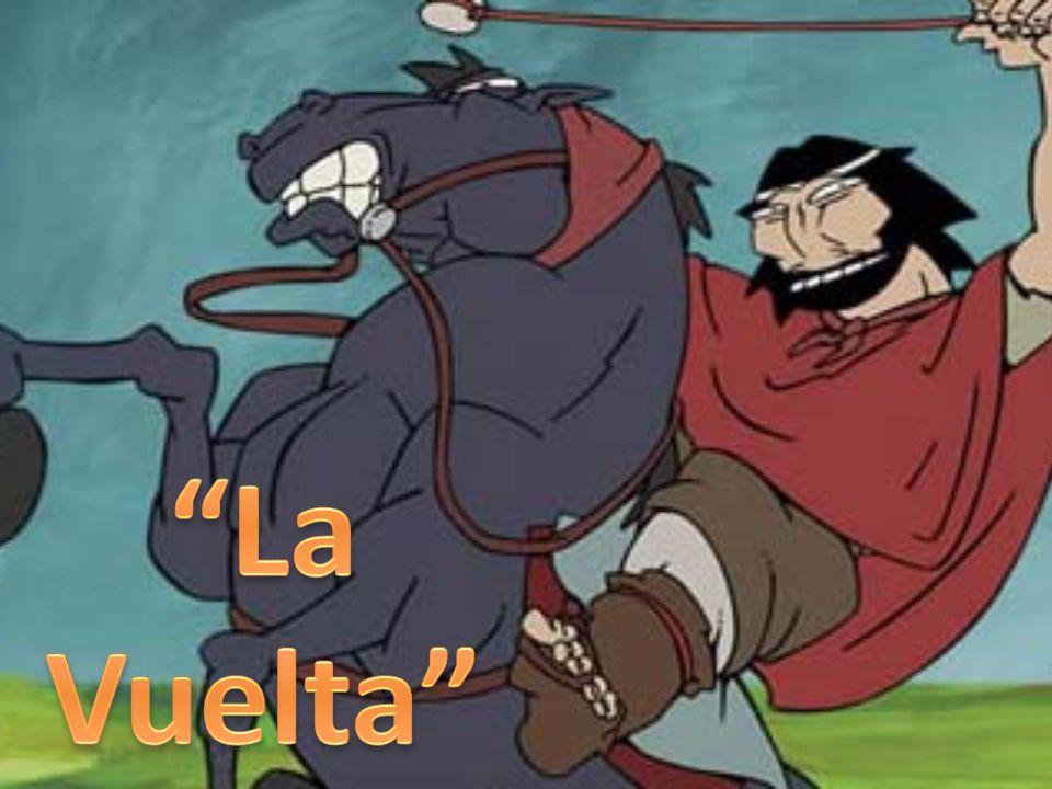 En tanto que la primera parte, El Gaucho Martín Fierro, había terminado con Fierro y su compañero Cruz, huyendo al desierto para vivir con los indios, la vuelta, comienza con el relato de ellos dos viviendo en las tolderías mapuches.