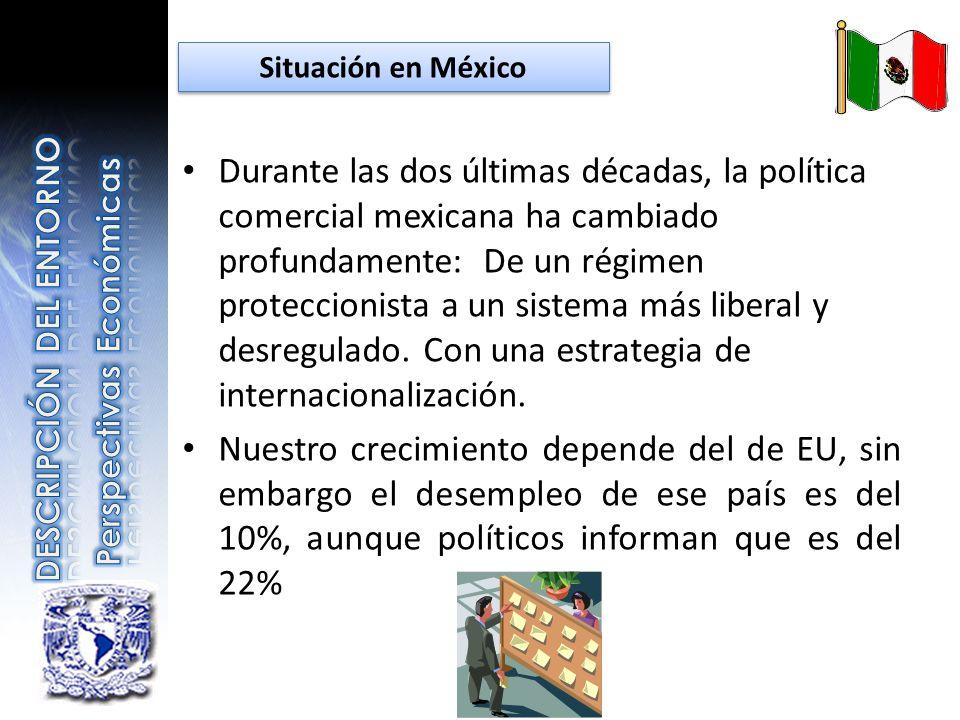 Durante las dos últimas décadas, la política comercial mexicana ha cambiado profundamente: De un régimen proteccionista a un sistema más liberal y des
