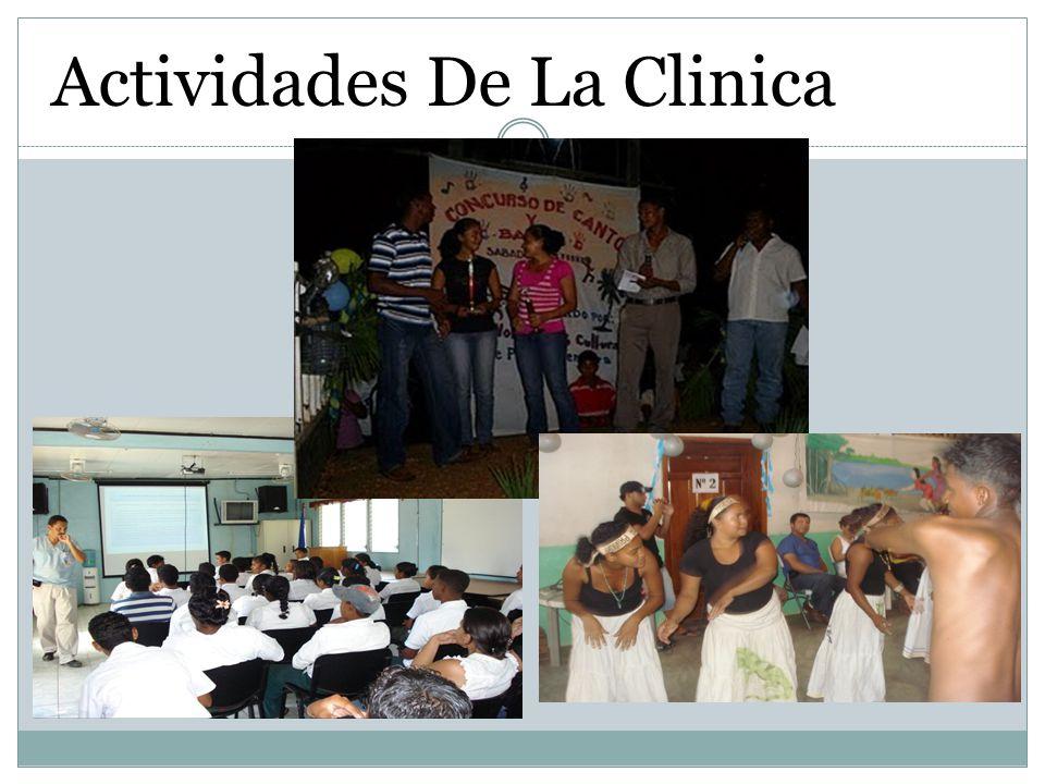 Actividades De La Clinica