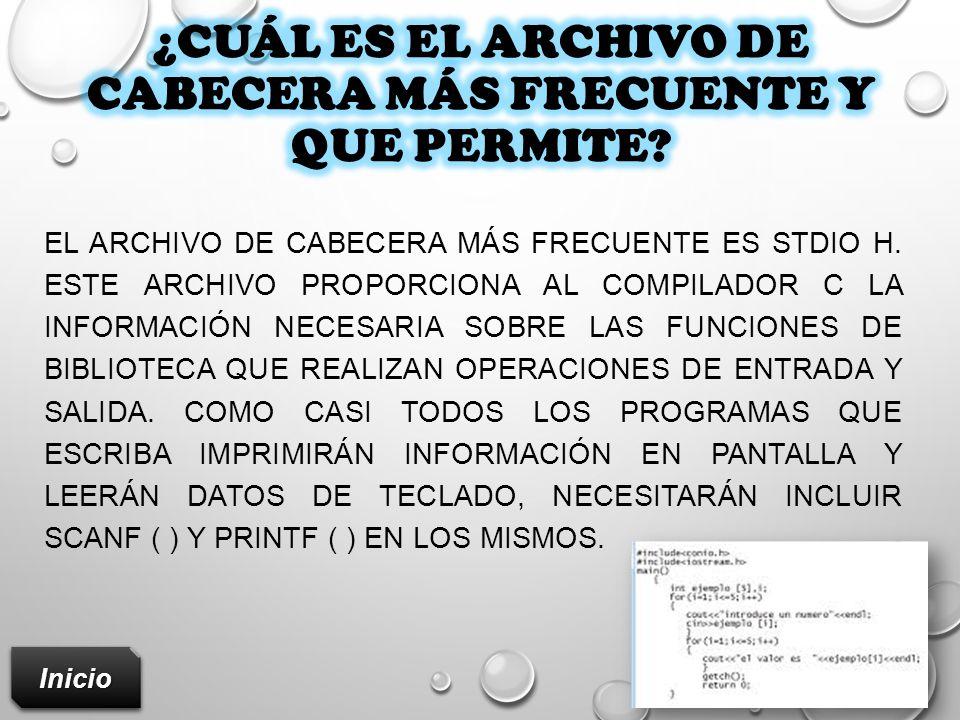LAS DOS DIRECTIVAS MÁS USUALES SON: #INCLUDE Y #DEFINE.