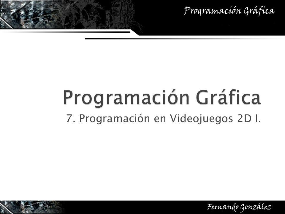 7. Programación en Videojuegos 2D I.