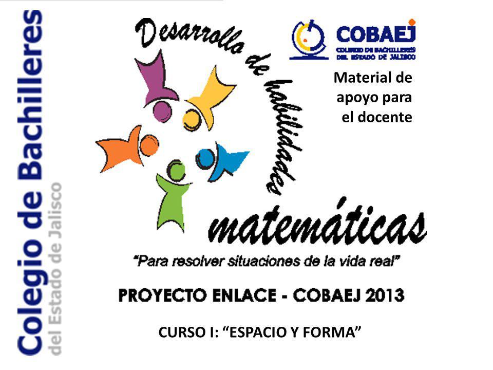 CURSO I: ESPACIO Y FORMA Material de apoyo para el docente