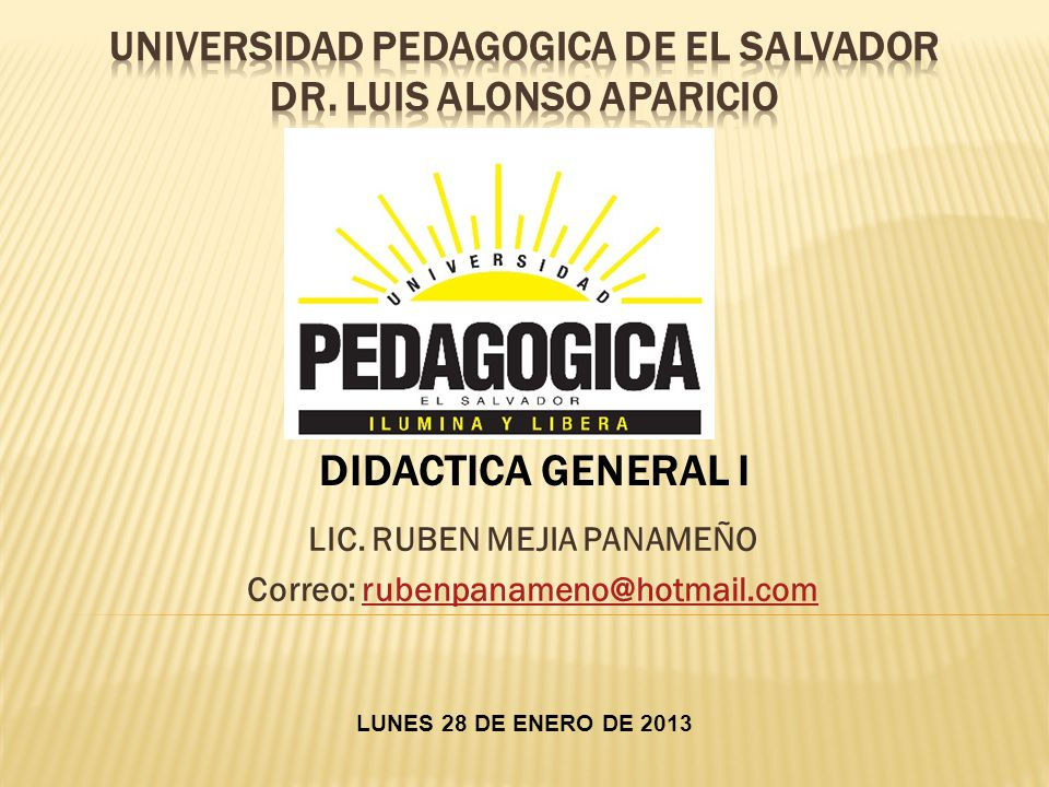 DISCUSIÓN DEL PROGRAMA PROGRAMA DE DIDACTICA GENERAL I.doc METODOLOGÍA TECNICAS GRUPALES DE DISCUSION -GENERAR DIALOGO ABIERTO -QUE LOS ESTUDIANTES EXPONGAN SUS PUNTOS DE VISTA TAREAS Y RESOLUCION DE GUIAS E INVESTIGACION DE CONCEPTOS ELABORACION DE ENSAYOS (ESCRITOS INTERPRETATIVOS PROPIOS) EXPOSICIONES DE TEMAS QUE SEAN ASIGNADOS INVESTIGACIONES BIBLIOGRAFICAS (EN GRUPOS DE 5 ESTUDIANTES) FORMA DE EVALUACION