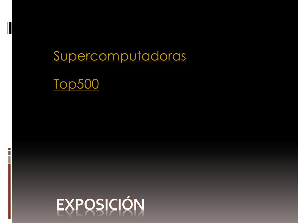 Supercomputadoras Top500