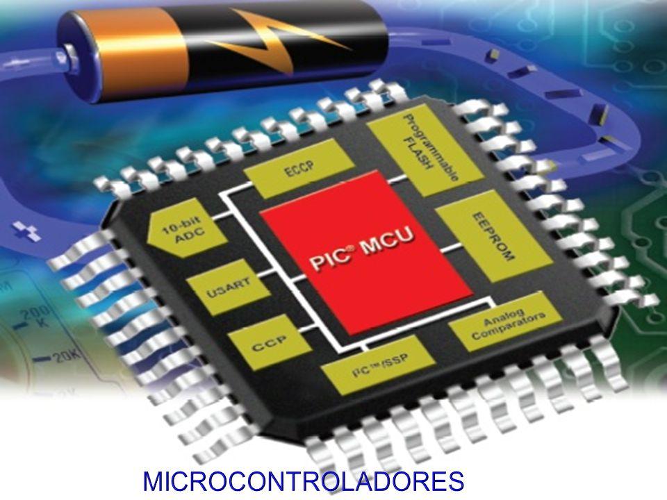 Concepto Usos Arquitectura interna CPU Memoria de Programa Memoria de datos Recursos Auxiliares Microcontroladores Comerciales El microcontrolador PIC Microcontroladores