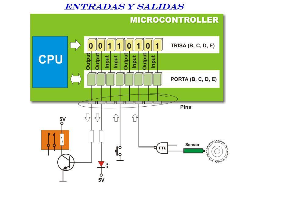 ENTRADAS Y SALIDAS