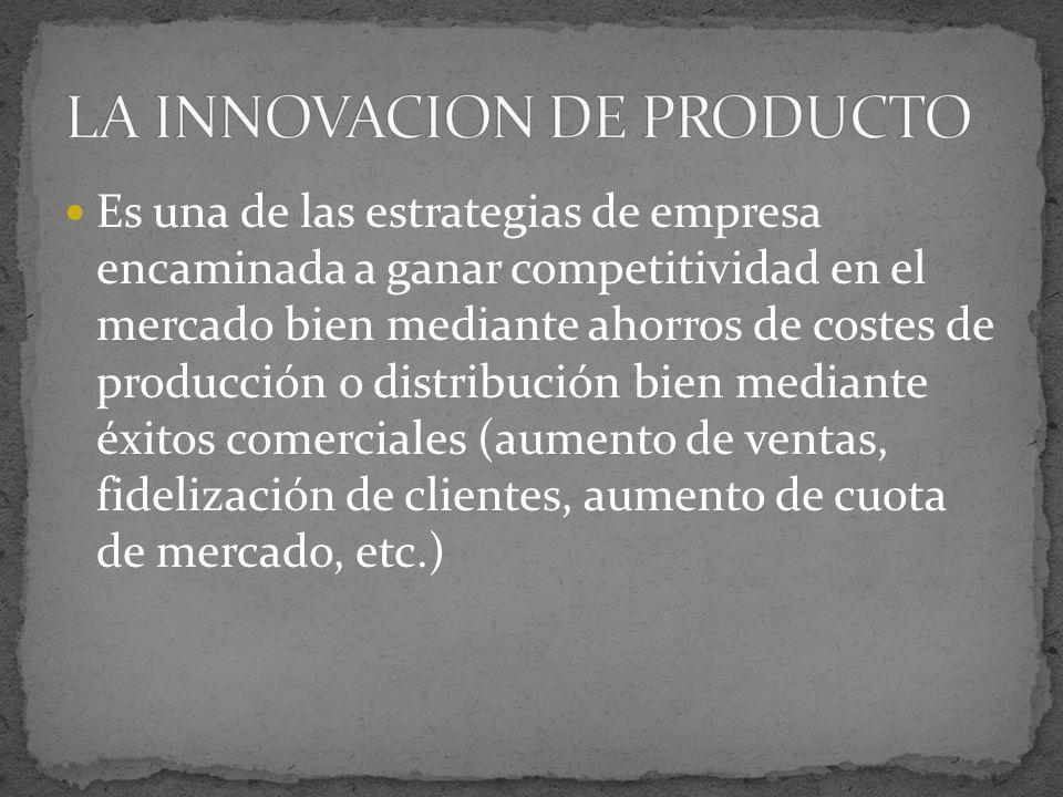 Es una de las estrategias de empresa encaminada a ganar competitividad en el mercado bien mediante ahorros de costes de producción o distribución bien