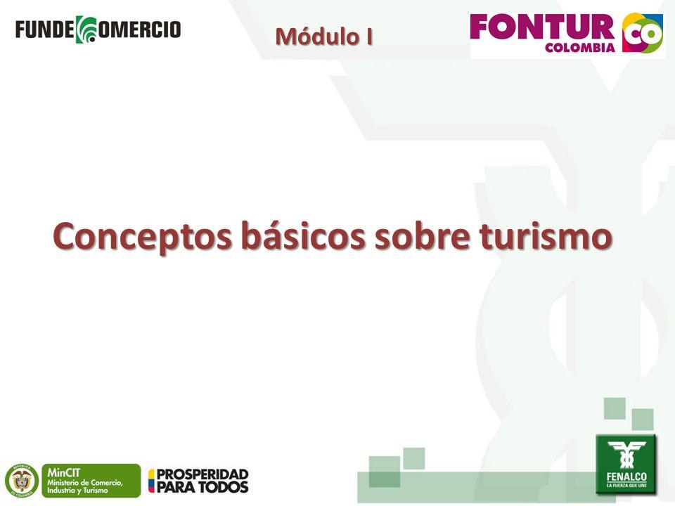 Conceptos básicos sobre turismo Módulo I