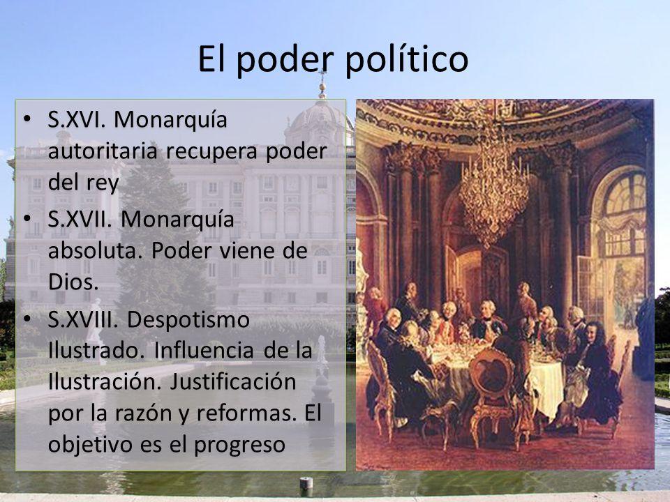 Principales pensadores de la Ilustración MONTESQUIEU VOLTAIRE ROSSEAU El espíritu de las leyes alaba como sistema de gobierno ideal el parlamentario y propone la división de poderes, base de la democracia.
