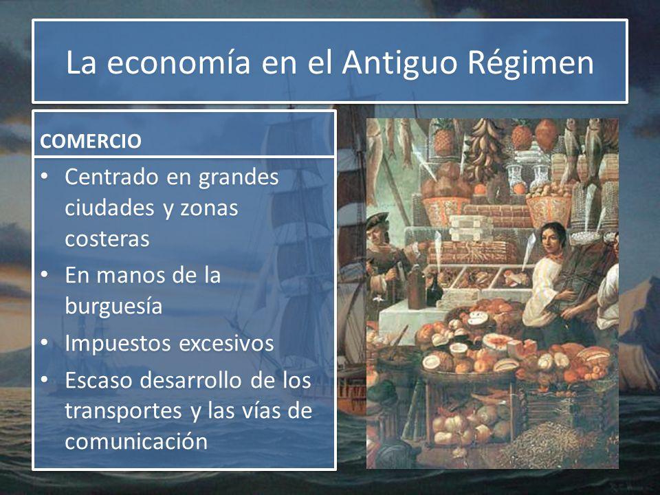 La economía en el Antiguo Régimen
