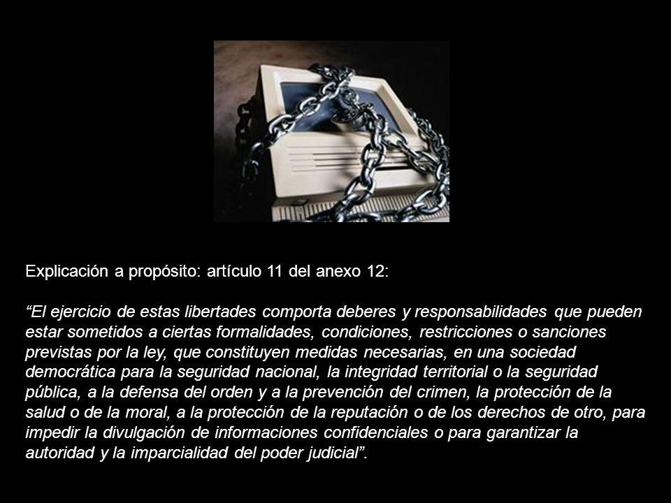 1.- Toda persona tiene derecho a la libertad de expresión.