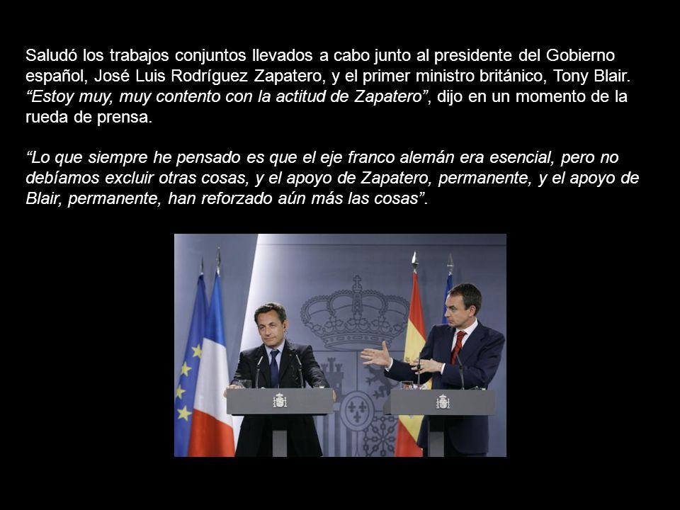 Es una muy buena noticia para Europa, es una muy buena noticia para Francia.