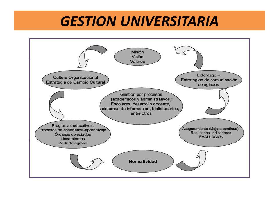 GESTION UNIVERSITARIA