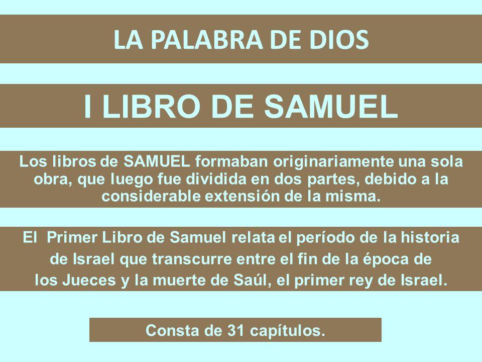 LA PALABRA DE DIOS ARCHIVO #12 I LIBRO DE SAMUEL