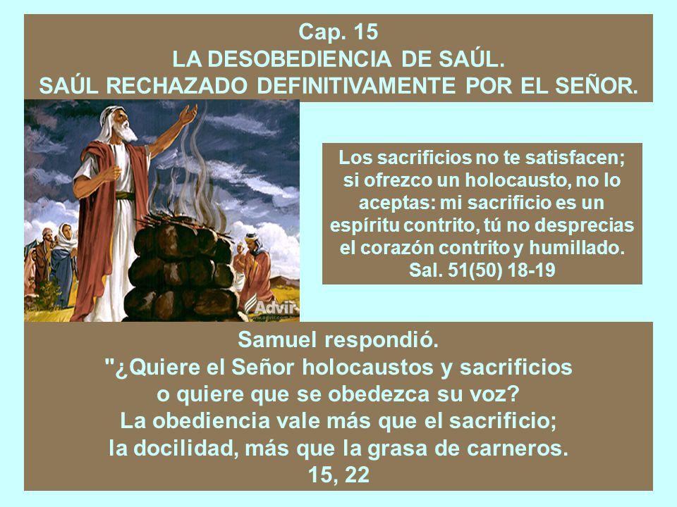 Cap.14 LA HAZAÑA DE JONATÁN. EL JURAMENTO DE SAÚL Y LA REACCIÓN DE JONATÁN.